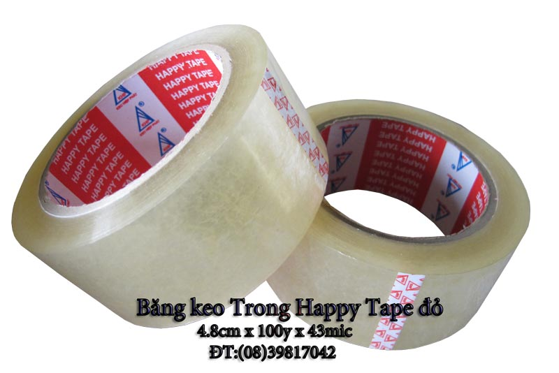 Băng keo trong Happy Tape